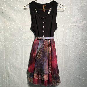 Forever 21 multicolored dress